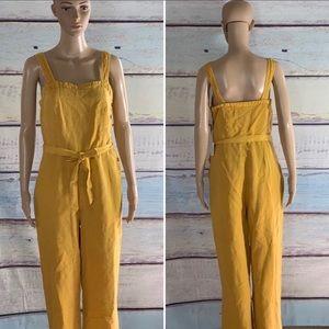 C&C California Linen Jumpsuit